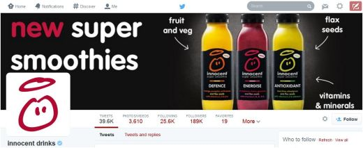 Innocent drinks new timeline